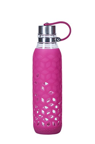 Contigo Purity Bouteille d'Eau Mixte Adulte, Rose (Verry Berry), 590 ml