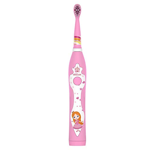 Generic Elektrische tandenborstel Kinderen Zacht bont Waterdicht Cartoon Zacht bont Oplaadbare USB-tandenborstelpoeder