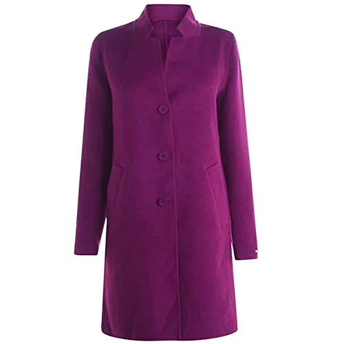 EMME MARELLA Mantel Buche 501603992002, Violett 44