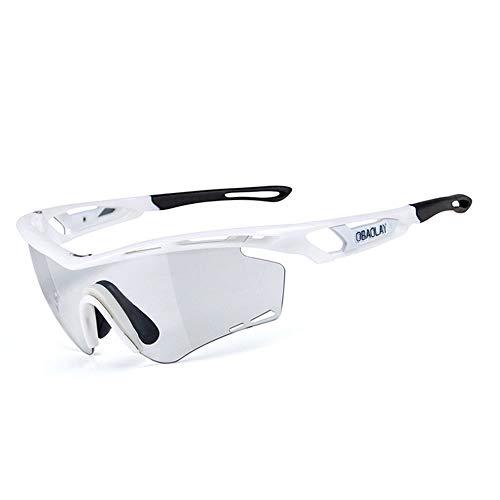 Xiejuanjuan anteojos de sol polarizados para deportes para hombres y mujeres gafas de sol gafas de sol Specialist Sport UV400 Protección – Running/Cycling/Skiing/Snowboard marco diseño para hombre y mujer 4 colores