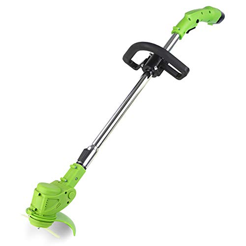 Check Out This nonbrand 12 Volt Lithium Ion Cordless Edger, String Trimmer, with Adjustable Telescop...