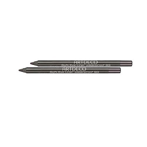 Artdeco Soft Eye Liner Waterproof 93, Historic Wood, 2er Pack(2 x 1.2 g)