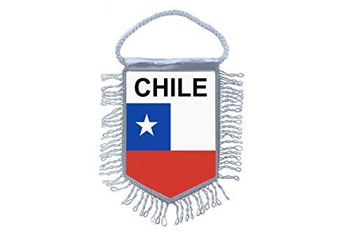 Akachafactory Wimpel Mini Flagge Fahne flaggen miniflagge Chile