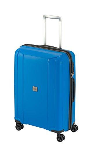 Princess Traveller Havana Rollkoffer 66x45x27, 73l mit TSA-Kombinationsschloss, blau
