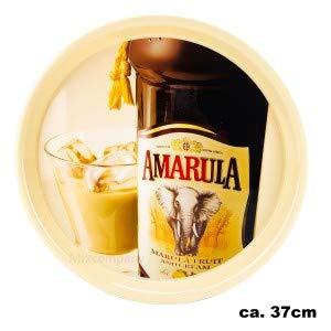 Amarula Cream Likör Serviertablett Kellnertablett ca. 37cm