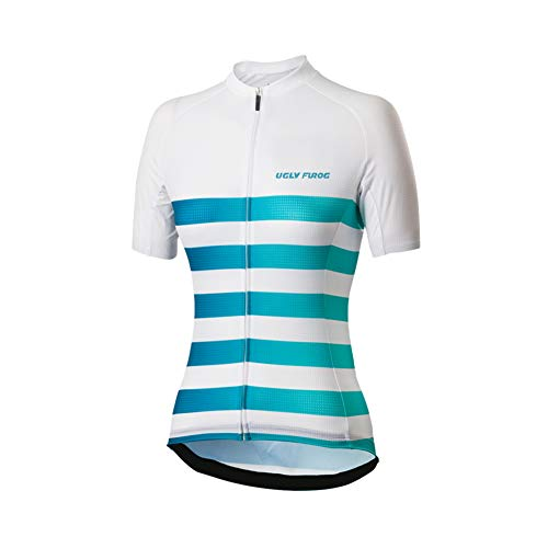 Uglyfrog Women's Cycling Jersey Lady Short Sleeve Cycle Bike Top Shirt Quick Dry Breathable Mountain Clothing Sports Gym Yoga Sportswear Multicolor