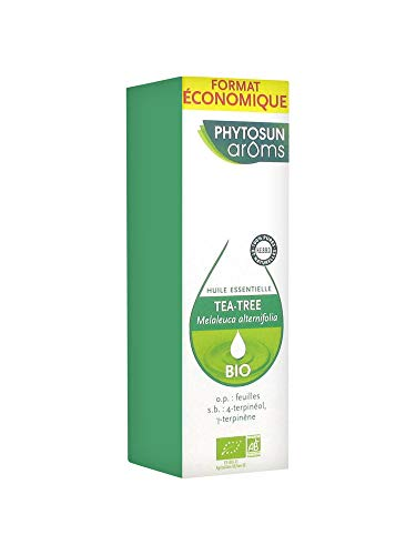 PHYTOSUN arôms – Huile Essentielle Tea Tree BIO – 100% pure et naturelle – 30 ml