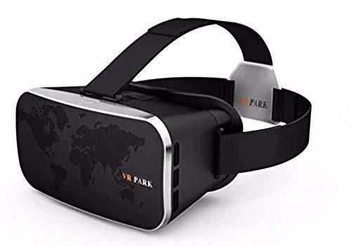 Casque VR, Archeer V3 Lunettes 3D Réalité Virtuelle VR Boîte Lunettes Jeu Vidéo Support Casque Réglable Compatible avec Téléphone Portable 4.5-5.5 Pouces Pour iPhone Android Smartphone IOS Samsung, PD(Distance Pupille) & FD(Distance Focale) Ajustable