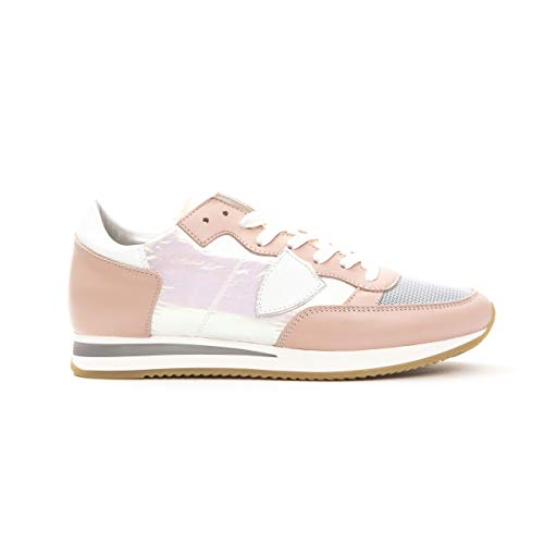 Philippe Model Sneakers Tropez L Diridescent Scarpa Made in Italy Donna TRLDWO (Rosa, Numeric_40)