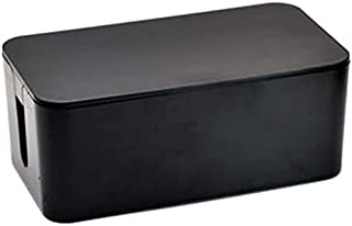 Rag & Sak® Cable Tidy Box High Quality Power Cord Storage Box Plastic Power Strip Data Headset Finishing Wire Organizer Si...