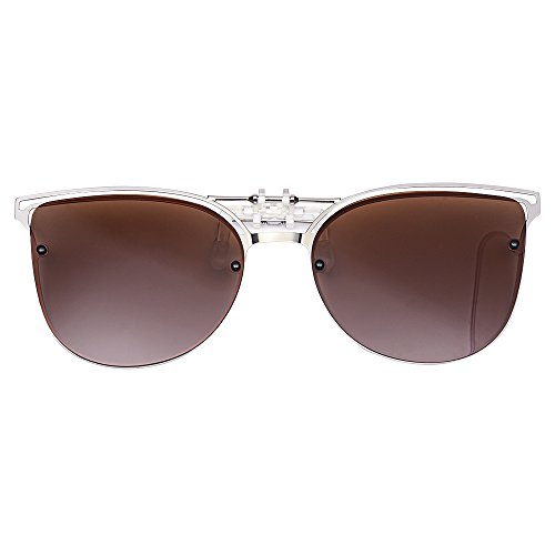 LUFF Gafas de Sol polarizadas conducción Clip función Flip - up Adecuado, Nuevo diseño de Gafas de Sol al Aire Libre Estilo Ojo de Gato