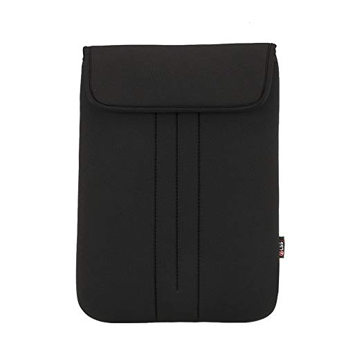 Leeofty S013A Laptop Sleeve Soft Pouch 14 inch Bag Case Cover Replacement for MacBook Air Pro Retina15 Black