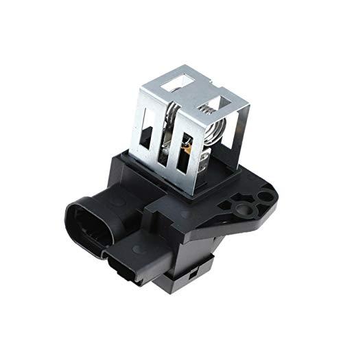 WeiYang Radiador De La Resistencia De Retransmisión del Motor del Ventilador para Peugeot Citroen 1267J6 9662872380 (Color : Silver Black)