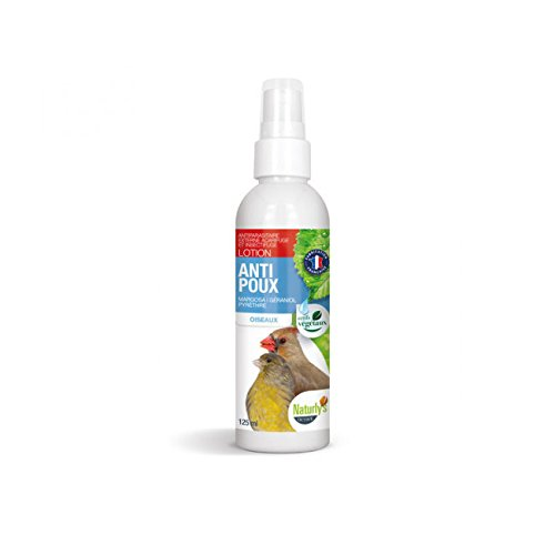 Lotion Bio Naturlys Anti-Insect pour oiseaux 100 ml