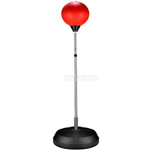 LANGPIG Soporte Vertical de Suelo Boxing Speed ​​Ball Training Reaction Target Steel Metal Boxing Training Fitness Equipment para Adultos/niños-Tipo B