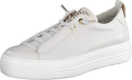 Paul Green Damen SUPER Soft Halbschuhe, Damen Low-Top Sneaker,Plateausohle,Women's,schnürschuhe,schnürer,Helles Beige/Gold (068),38 EU / 5 UK