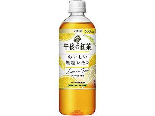 【販路限定品】キリン 午後の紅茶 おいしい無糖レモン 600mlPET×24本