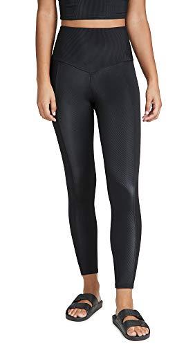Onzie Damen Sweetheart Midi Yoga-Hosen, schwarz, Medium-Large