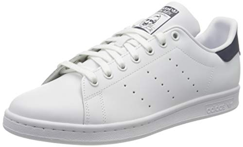 adidas Originals Stan Smith, Zapatillas de Deporte para Unisex adulto, Blanco (Running White/New Navy), 37 1/3 EU