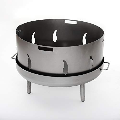Czaja Funkenschutz mit Flammenmotiv für alle Feuerschalen Ø55cm