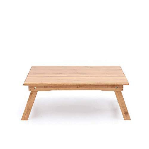 Laptoptafel, Opvouwbaar, Bamboe, Woonkamer, Bank, Woonkamer, Balkon, Patio, Massief hout, Multifunctioneel, Casual, Eettafel, Bureau, Mobiel Bureau