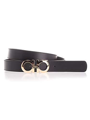 Salvatore Ferragamo Luxury Fashion Herren 6755425 Schwarz Gürtel |