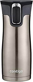 Contigo Stainless Steel Autoseal West Loop Vacuum-Insulated Travel Mug 16 Oz