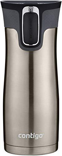 Contigo Stainless Steel Autoseal West Loop Vacuum-Insulated Travel Mug, 16 Oz