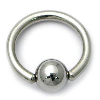 2 x acero inoxidable bañado en titanio anillo de cuentas CB