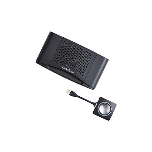 Barco ClickShare CS-100 Kabelloses Präsentationssystem Desktop HDMI - Kabellose Präsentationssysteme (Desktop, Schwarz, Silber, FCC/CE, 1920 x 1200 Pixel, 1080p, 30 fps)