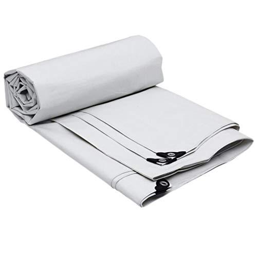 HQQ Impermeabilizante de Lona impermeabilizada: Cubierta de plástico for Tienda con Ojales for Muebles de jardín, carros de Madera, Camping 175 g/m² (Size : 6x4m)