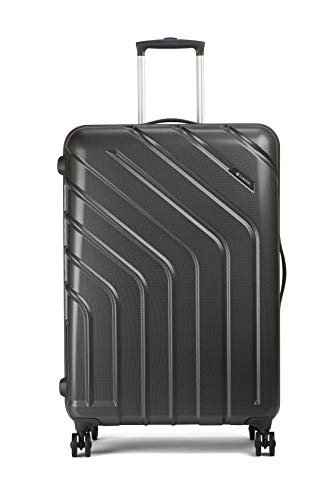 Carlton Diesel Plus Polycarbonate 68 Cms Graphite Hardsided Check-in Luggage