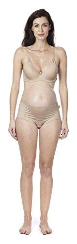 Noppies Damen gefütterter Schwangerschafts-BH padded mit Stillfunktion , Beige (Natural C018), 80E