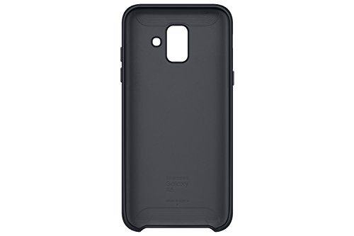 SAMSUNG EF PA600Dual Layer Cover per Galaxy A6Nero