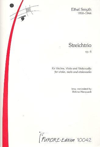 Streichtrio op.6 : für Violine, Viola und Violoncello Partitur und Stimmen