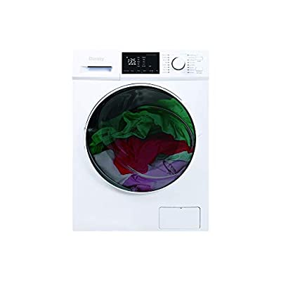 Danby DWM120WDB-3 2.7 Cu.Ft. All in One Ventless Washer Combo-Compact Washing Machine and Clothes Dryer in White for Apartments, Small Spaces