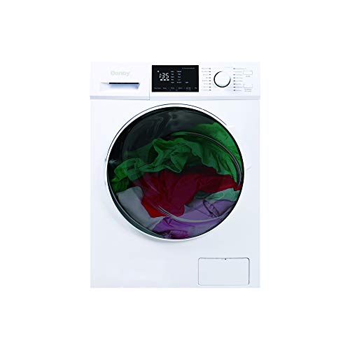Danby DWM120WDB-3 2.7 Cu.Ft. All in One Ventless Washer Combo-Compact Washing Machine and Clothes...