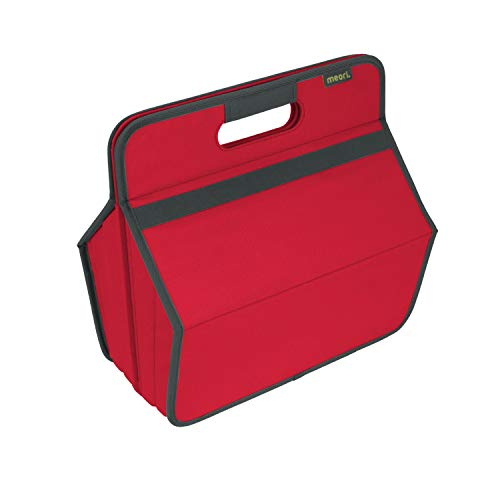 Faltbare Werkzeug/Hobby Box Hibiskus Rot 36,5x22,5x37cm abwischbar stabil Polyester Basteln Werkstatt Garage Flickzeug