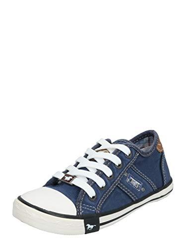 MUSTANG Unisex Kinder 5803-305 Sneaker, Blau (841 Jeansblau), 36 EU