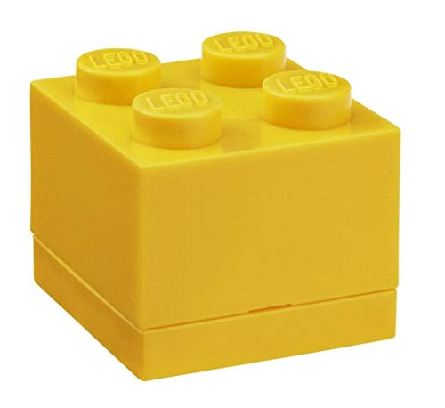 LEGO - Mini Caja de Almuerzo 4, Color Amarillo (Room Copenhagen A/S...