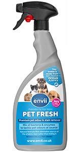 Envii Pet Fresh – Elimina Perro Manchas y Olores, Quitamanchas & Neutralizador...
