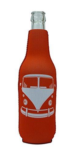 1023105 - neopreen flessenkoeler bus rood