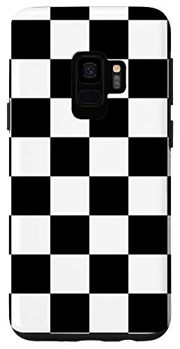 Galaxy S9 Checkered Black and White Case