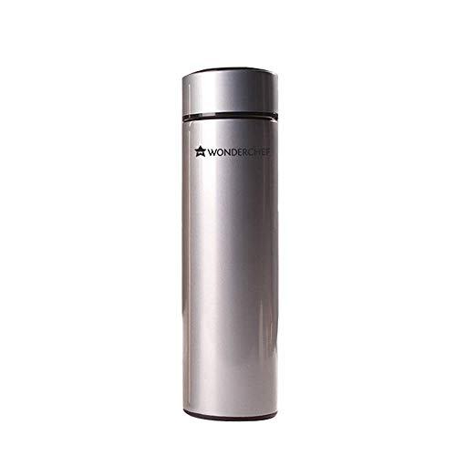 Wonderchef NutriBot Stainless Steel Vacuum Bottle 480ml (Silver Finish)