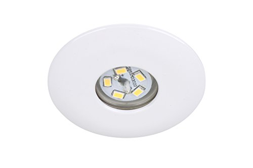 Briloner Leuchten LED Einbauleuchten Set, 1-flammig, 7240-016, inkl. LED 1,8 Watt, weiss, EEK A++