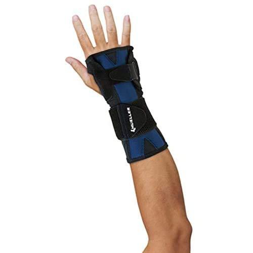 MUELLER Mueller X-Stay Wrist Stabilizer, Black, Large/Extra Large