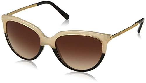 Michael Kors Sue Gafas de sol, Milky Ivory/Black 327613, 55 Unisex-Adulto