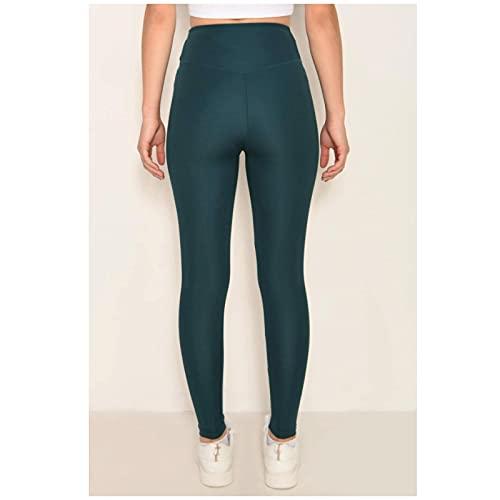 IUYBHRYI Leggings de Cintura Alta para Mujer, Leggings Forrados, Pantalones de Yoga,...