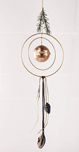 Metallring für Hängedekoration gold |25 cm - 4