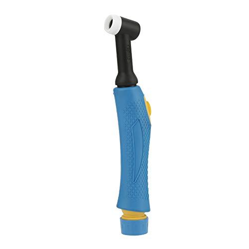 Hilitand Cuerpo de Cabeza Flexible Flexible refrigerado por Agua de la antorcha de Soldadura TIG WP-18 con botón de Interruptor, refrigerado por Agua